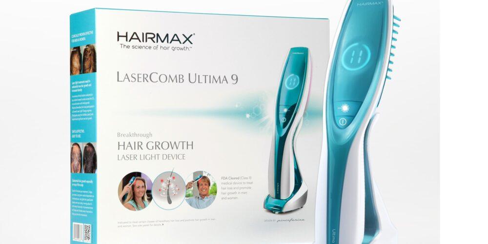 HairMax Laser Comb Ultima 9